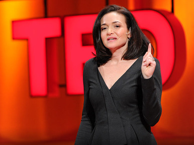 Sheryl Sandberg TED